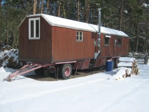 Schaustellerwagen(Winter)